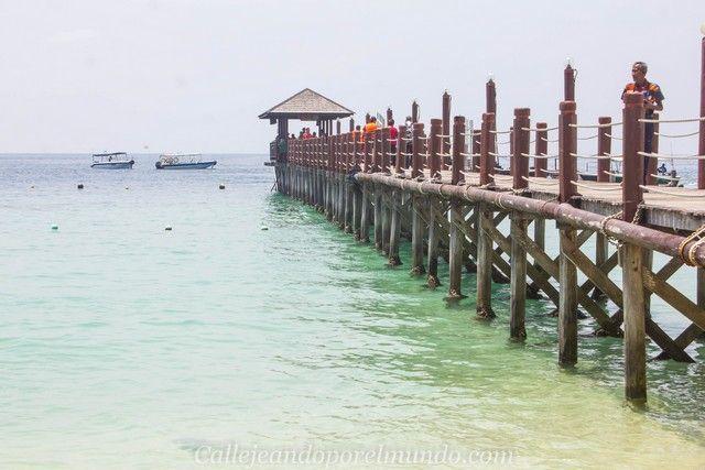 manukan island tunku abdul rahman marine park