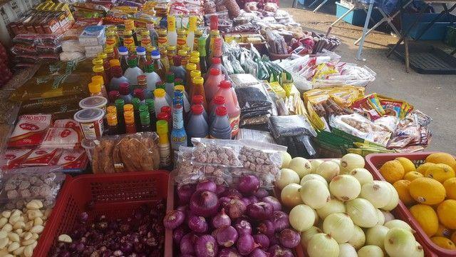 mercado filipina kota kinabalu borneo malasia