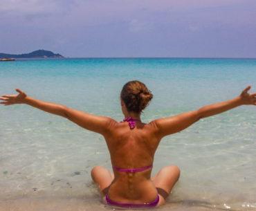 perhentian besar playa y snorkel portada
