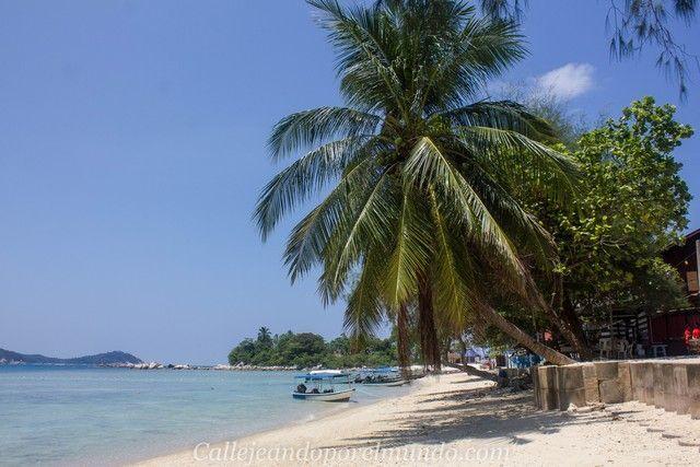 playa mamas beach perhentian besar