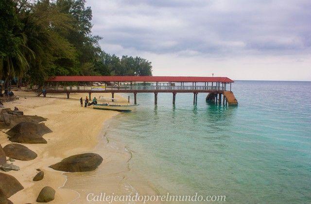 playa teluk kk beach norte perhentian besar