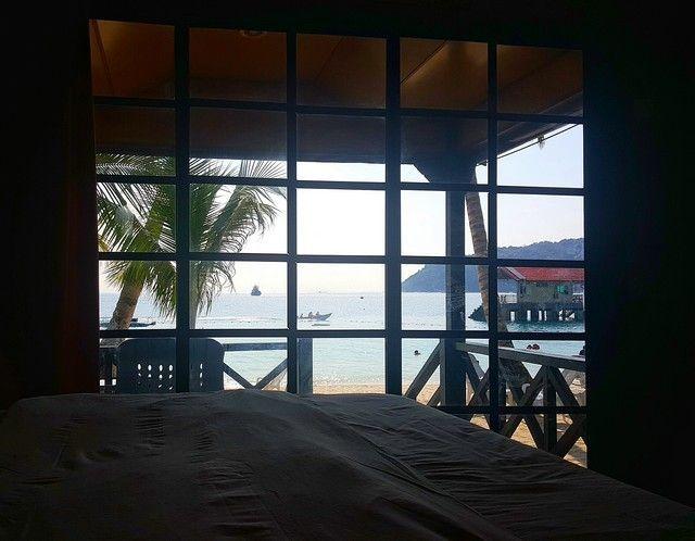 vistas abdul chalet perhentian besar malasia