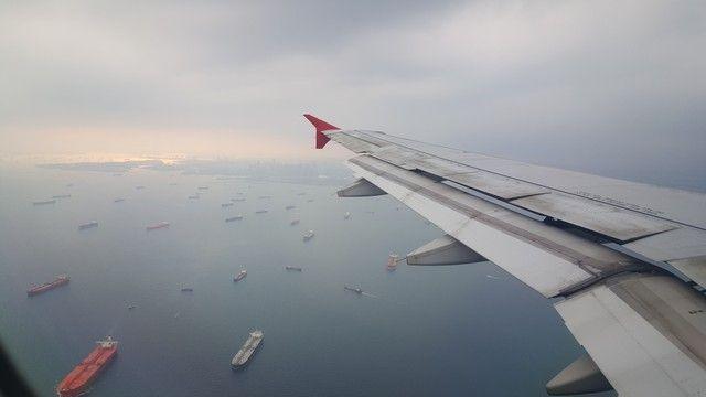 llegando a singapur vuelo air asia