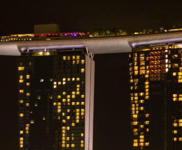 singapur nocturno marina bay portada