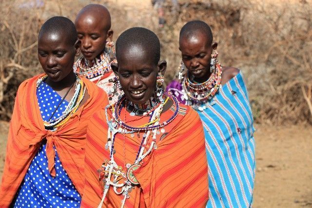 mujeres masai kenia y tanzania 2016