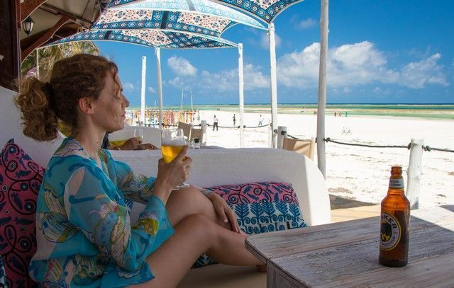 restaurante the sands at nomad diani beach kenia