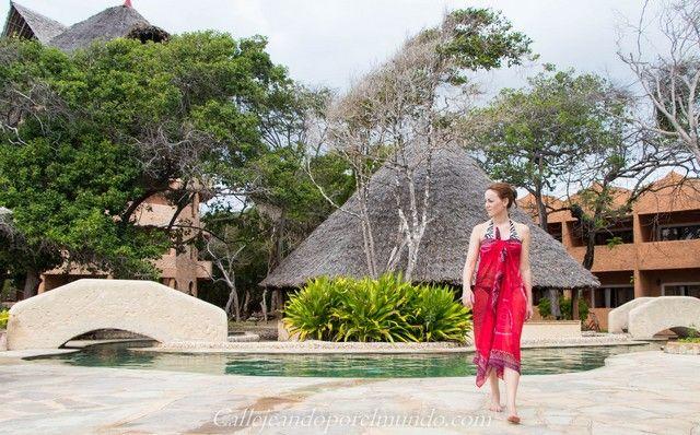 zona de piscina the sands at chale island kenia