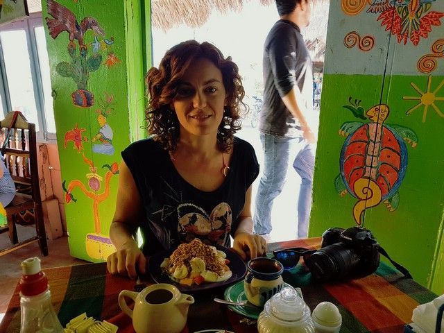 desayuno el colibri holbox mexico