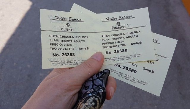 tickets ferry chiquila holbox mexico