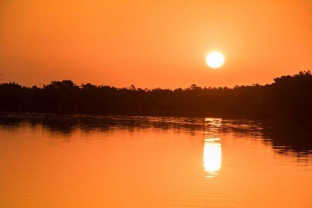 amanecer en rio lagartos 4