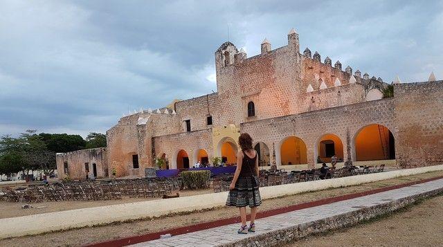 ex convento de san bernardino valladolid yucatan