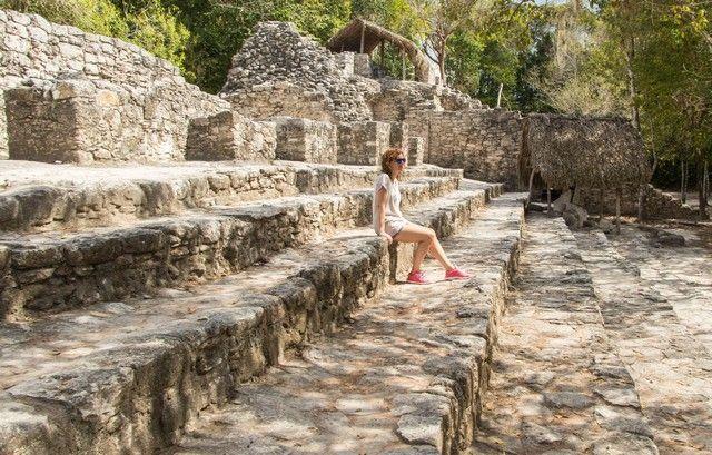 zona arqueologica coba valladolid yucatan mexico (2)
