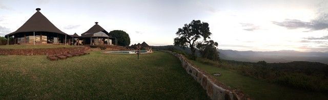 Panorámica Ngorongoro Sopa Lodge