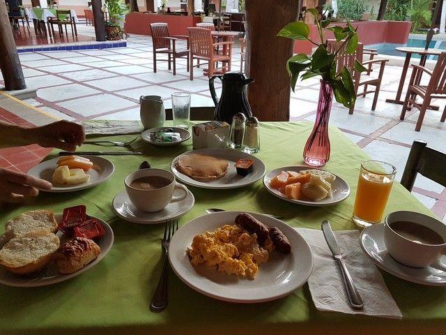 desayuno chichen itza