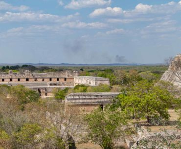 parque arqueologico uxmal yucatan