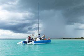 bacalar en un día de tormenta yucatan portada