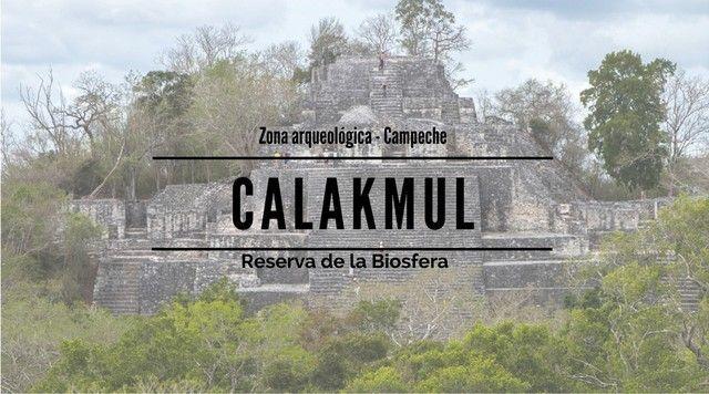 Calakmul, las ruinas en la selva