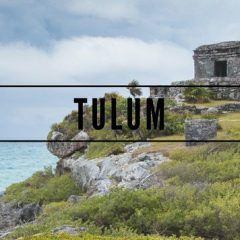 Tulum, un paraiso bajo la lluvia