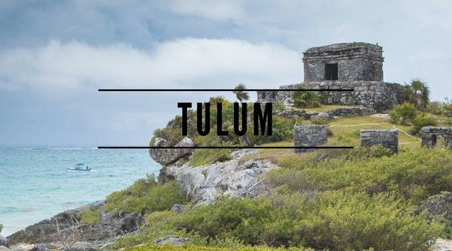 tulum zona arqueologica riviera maya portada