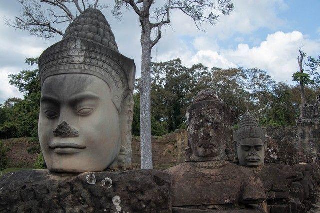 puerta sur angkor thom tour corto por los templos de angkor