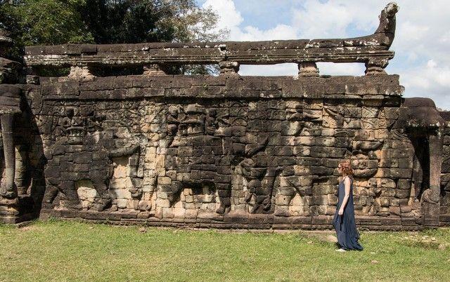 terraza de los elefantes tour corto por los templos de angkor