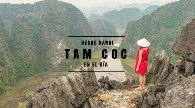 Tam Coc en el día desde Hanoi.