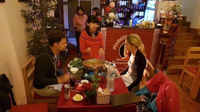 cena en sapa vietnam