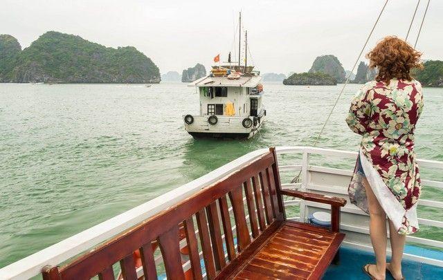 segundo día en la bahía de Halong (4)