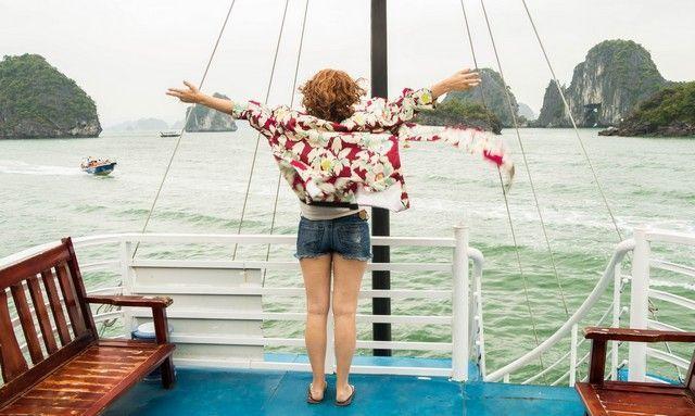 segundo día en la bahía de Halong (5)