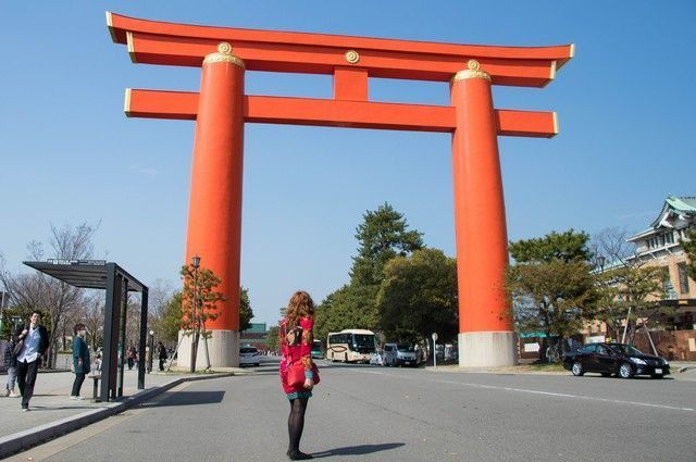 El Santuario Heian kioto japon (4)