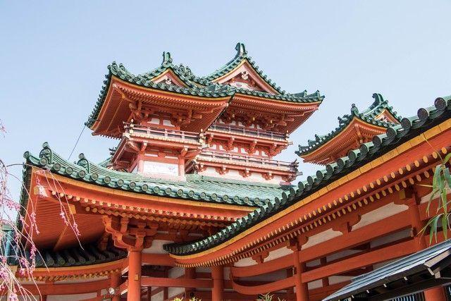 El Santuario Heian kioto japon (6)