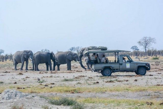 botswana safari en 4x4 de lujo