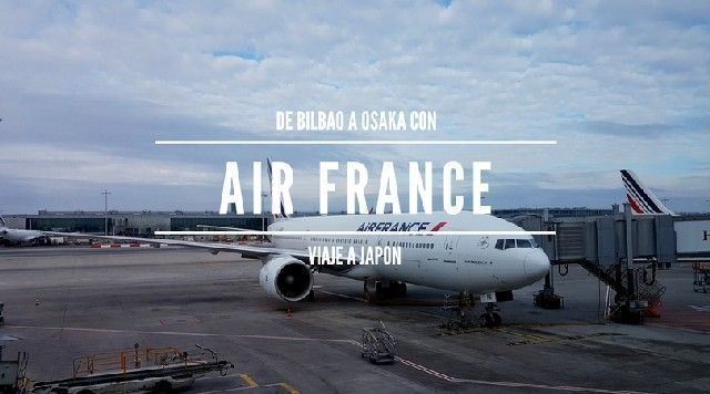 de bilbao a japon con air france