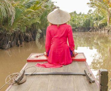excursión por el río mekong de dos días