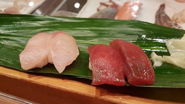 Sushitetsu comiendo sushi en kioto (2)