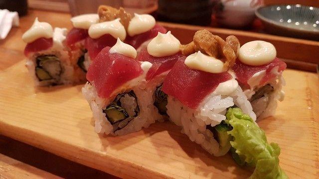 Sushitetsu comiendo sushi en kioto (3)