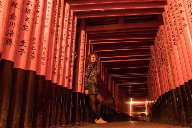 fushimi inari taisha de noche kioto (2)