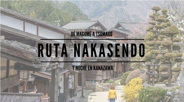 La ruta nakasendo de magome a tsumago portada