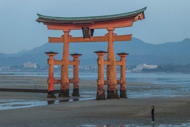 amanecer en miyajima japon (1)