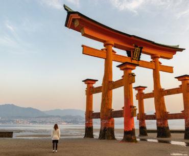 amanecer en miyajima japon portada