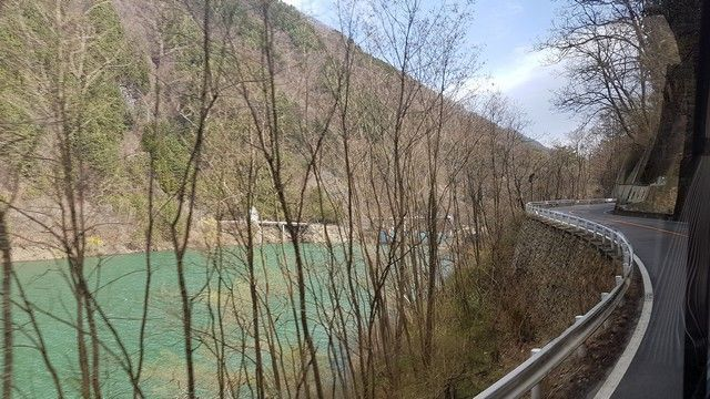 camino a kawaguchiko desde Takayama (1)