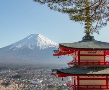 chureito pagoda monte fuji kawaguchiko