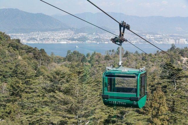 funicular miyajima japon