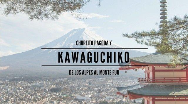 Kawaguchiko, la vista del Monte Fuji