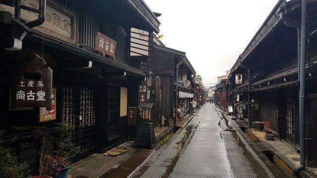 takayama bajo la lluvia alpes japoneses japon (5)
