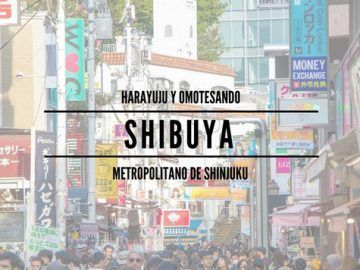 Shibuya, Harajuku y Omotesando. Segundo día en Tokio
