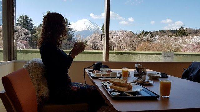 desayuno fuji view hotel monte fuji kawaguchiko (1)