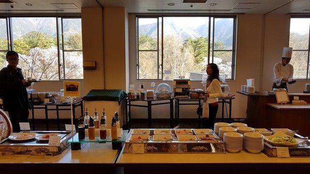 desayuno fuji view hotel monte fuji kawaguchiko (2)