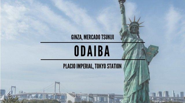 PORTADA ODAIBA GINZA PALACIO IMPERIAL