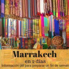 Marrakech en 2 días (y medio)
